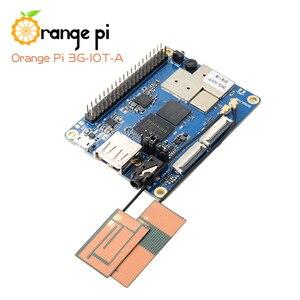 Image 4 - Mini pc android4.4 de bluetooth do cartão do apoio 3g sim do mb 256 Cortex A7 mb emmc do pi 3g iot a alaranjado 512mb