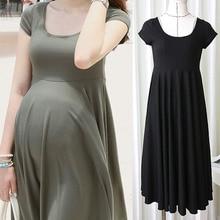 Summer Fashion Maternity Dress