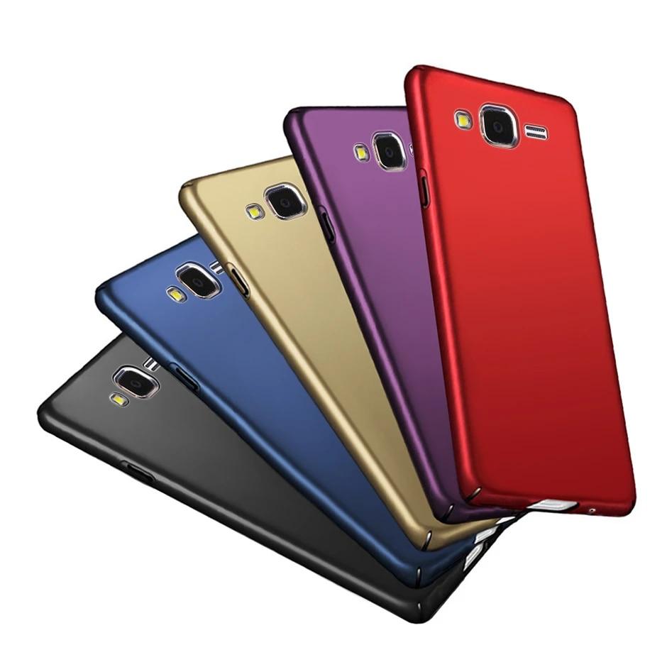 Coque givrée de couleur Pure pour Samsung Galaxy J3 2016 J320 J320F 5.0
