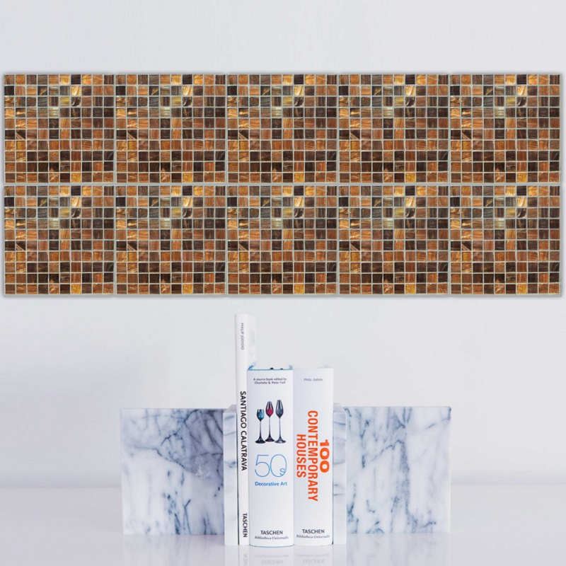 20 stücke Imitation Marmor PVC Wasserdicht self adhesive mosaik ...