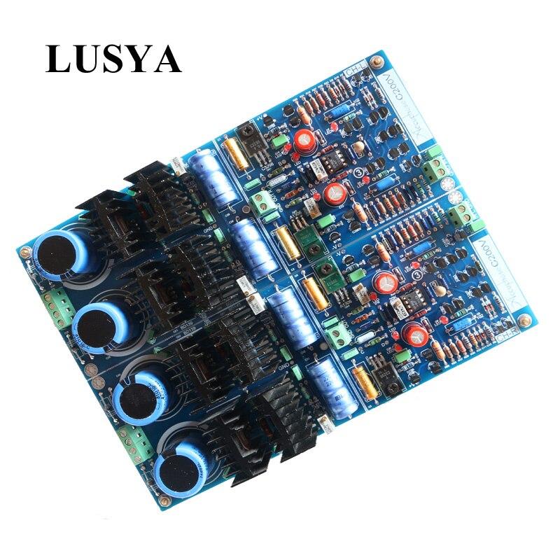 Lusya Classique HiFi préampli Accuphase D'or scorpion C200V Pur DC cadre Au-delà JC-2 préampli conseil T0153