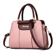 лучшая цена women bag 2018 new female litchi pattern single shoulder hand-held female bag European and American style atmospheric women bag