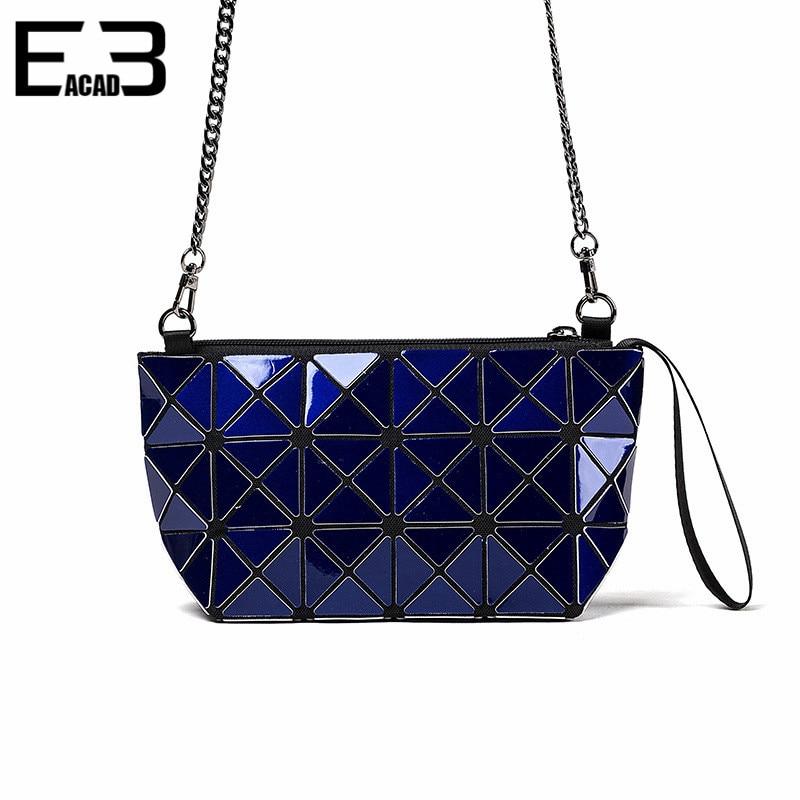 Zshop New Fashion Women Pearl Bag Diamond Lattice Clutch Geometry Quilted Handbag Geometric Mosaic Single Shoulder Sling Bag