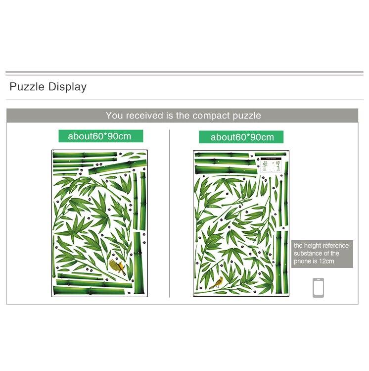 Aliexpress Neue Green Bamboo Forest Wandaufkleber Vinyl DIY Dekorative Wandkunst Fr Wohnzimmer Schrank Dekoration Wohnkultur Kostenloser Versand Von
