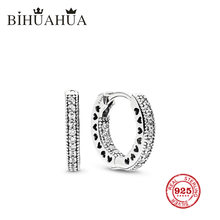 Bihuahua Fashion 100% 1:1 original engraved, high quality female glamour shining Earrings luxury jewelry gift(China)