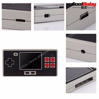 "20 PCS Classic Handheld Game Console 2.7"" For NES FC600 In 1 HD Classic Game SUP Plug-In TV Output Game Machine Gamepad"