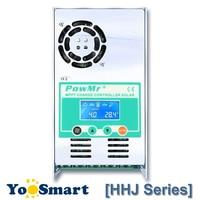PowMr 40A 50A 60A MPPT Solar Charge Controller 48V 36V 24V 12V Auto Max 190VDC Input Sealed and Li Backlight LCD Solar Regulater