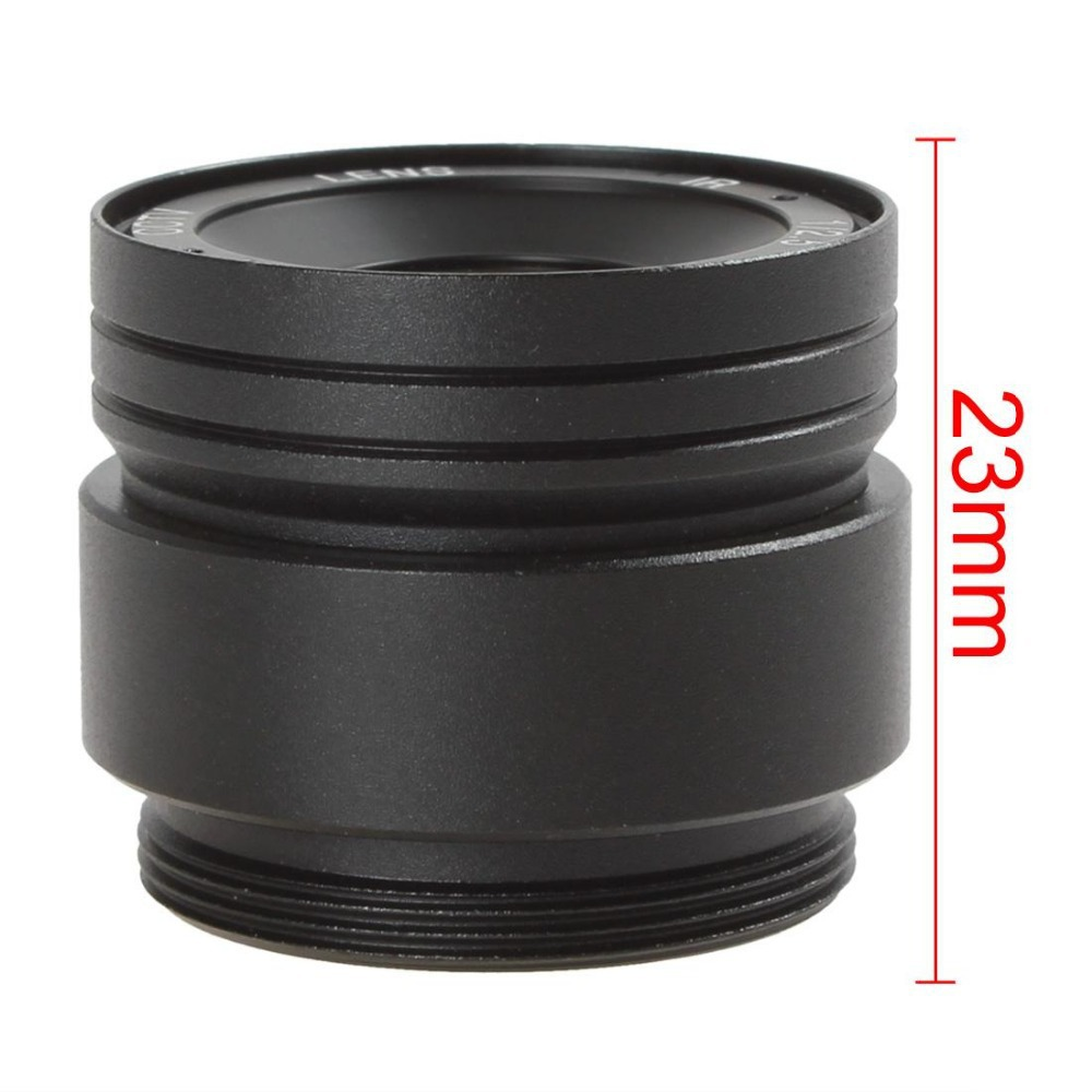 High Definition 3MP 1/2.5 6mm / F1.4 57 Degree IR CCTV Lens for CCTV Camera 57 Degree Horizontal View Field Lens