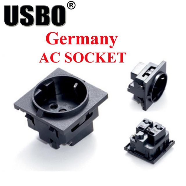 e 08 black round embedded industrial outlet european standard german rh aliexpress com