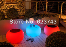 led Illuminated Furniture Bubble LED waterproof led table led coffee table rechargeable for Bars party events