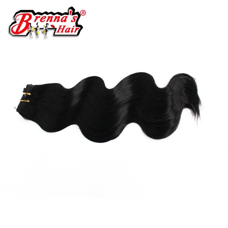 3 шт. объемная волна Юнис Синтетические Волосы Ткачество 18-20 дюймов; объемная волна черные женские пучки волос Высокая температура волокна