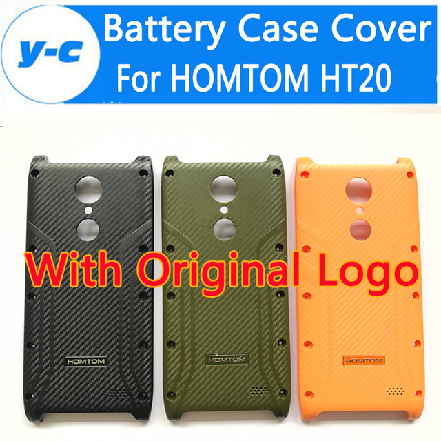 For HOMTOM HT20 Battery Case High Quality 100% New Durable With logo Back Battery Phone Case Cover For HOMTOM HT20 Pro