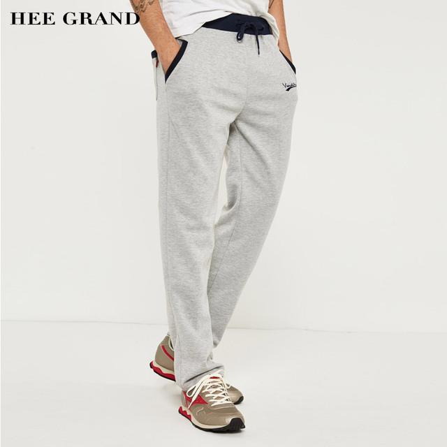 Hee grand hombres pantalones casuales nueva llegada del resorte con capucha más el tamaño grande 3xl mky136 encuadre de cuerpo entero al por mayor desgaste