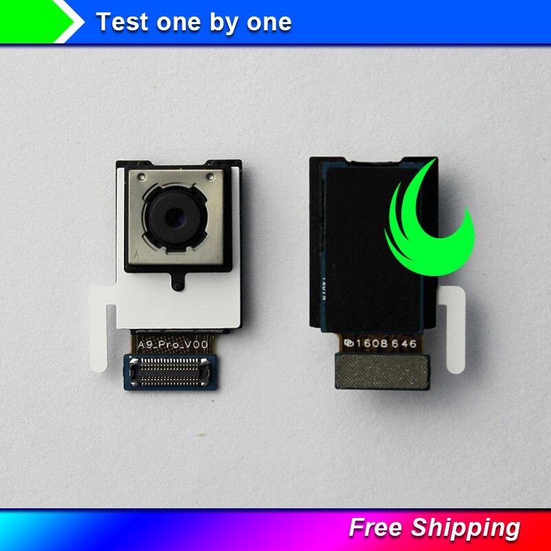 Original For Samsung Galaxy A9 2016 A910 A9100 Rear Big Back Camera Flex Cable Main Camera Module Replacement Parts Free Track