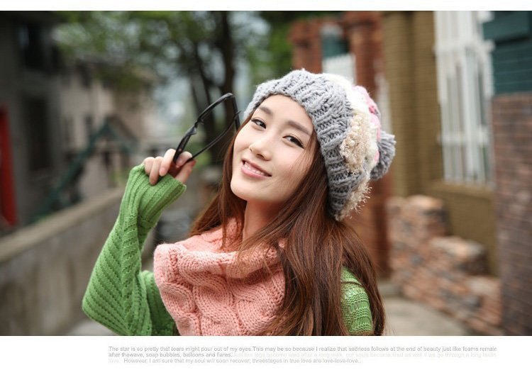 Women Hats Multi-color Acrylic Knitted Caps Winter Hats Free Shipping for Fashion Lady Cap Free Shipping Skullies & Beanies free shipping skullies