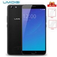 UMIDIGI C NOTE 2 4 GB 64 GB Octa Core 4G Phablet 5.5 pouces Android 7.0 MTK6750T 1.5 GHz 13.0MP + 5.0MP Caméras 4000 mAh Téléphone Portable