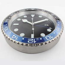 XL size Top Design Quality Metal Watch Shape Wall Clock  with Silent Mechanism
