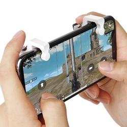 Telefon spust do gier na telefon komórkowy uchwyt z przyciskiem wystrzału kontroler strzelanek PUBG; Nowa gra mobilna przycisk ognia przycisk do celowania smartfon Ga