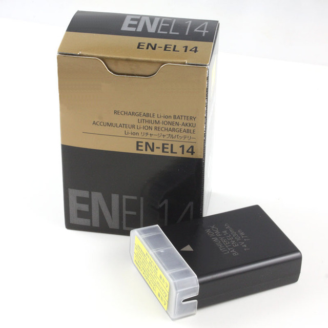 EN-EL14 Battery ENEL14 EN EL14 Batteries For Nikon MB-D31 MB-D51 COOLPIX P7000 D3100 D5100 D5200 P7100 P7700 P7800 D3200