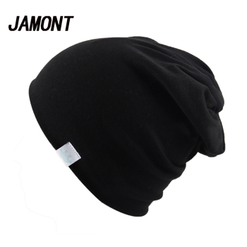 Plain Knitted Cotton Skullies Beanies Cap