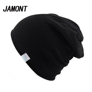079ff9570f1 Plain Knitted Cotton Skullies Beanies For Kid Children Embroidery Crown Hat  Cap Girls Boys Spring Autumn Outdoor Caps