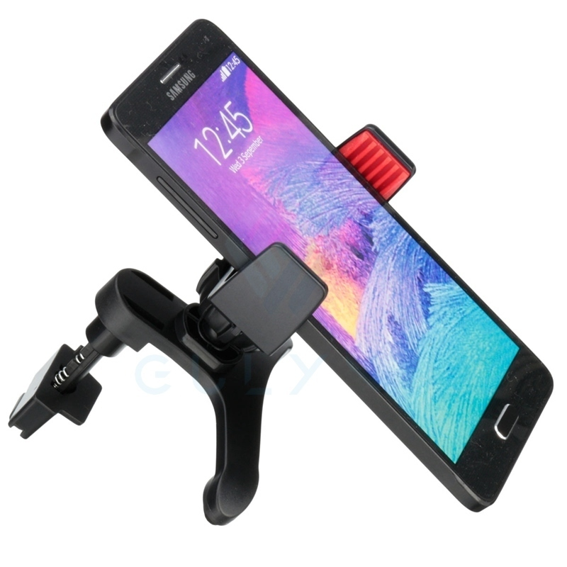 2016 New For IPhone 5s 6 7 8 Plus Car Air Vent Holder Stand For Samsung S8 S5 S6 Universal Mobile Phone Holder Stand Soporte Car
