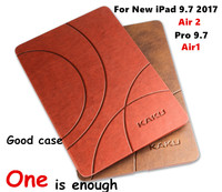 For Apple IPad Air 2 Air2 Brand Kaku Classic Pattern PU Leather Cases Smart Cover For