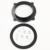 Reposição frete grátis peças da motocicleta Filtro Do Ar De Admissão Adaptador apto para Suzuki LTR 450 todos os anos NEGROS