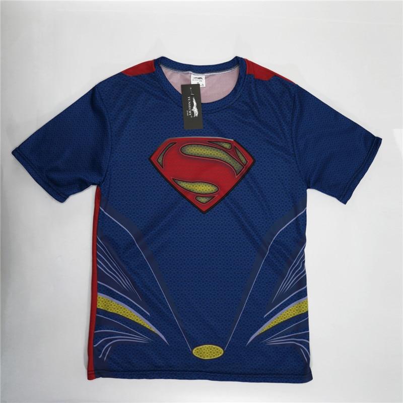 Batman Spiderman Ironman Superman Captain America Winter soldier T shirt Avengers Costume Comics Superhero mens 124