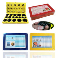 Assorted O Ring Rubber Seal Assortment Set Kit General Plumbers Mechanics Workshop Garage Plumbing With Case