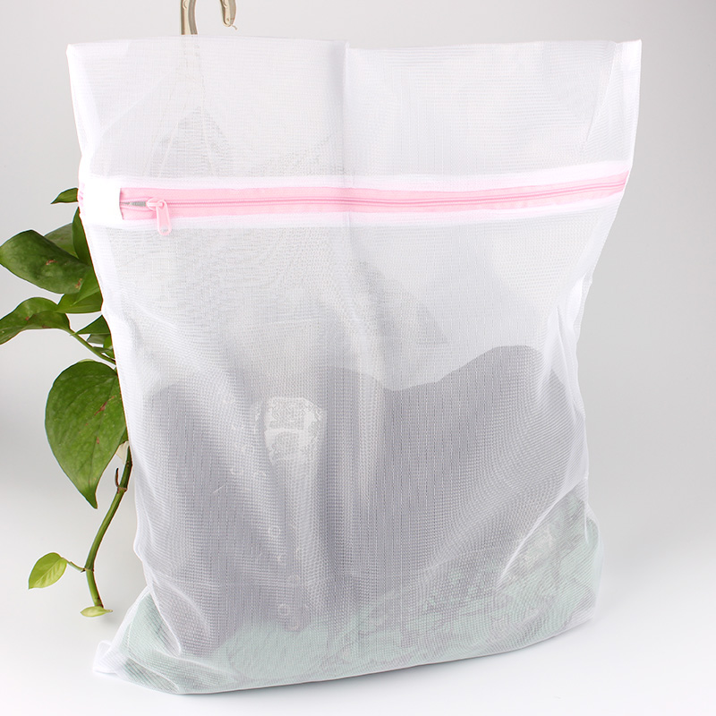 Us 3 46 5 Off Large Laundry Bags Does Not Get Tangled And It Guards Clothes From Damage Polyester Net Wash Square Shaped 60 60cm In