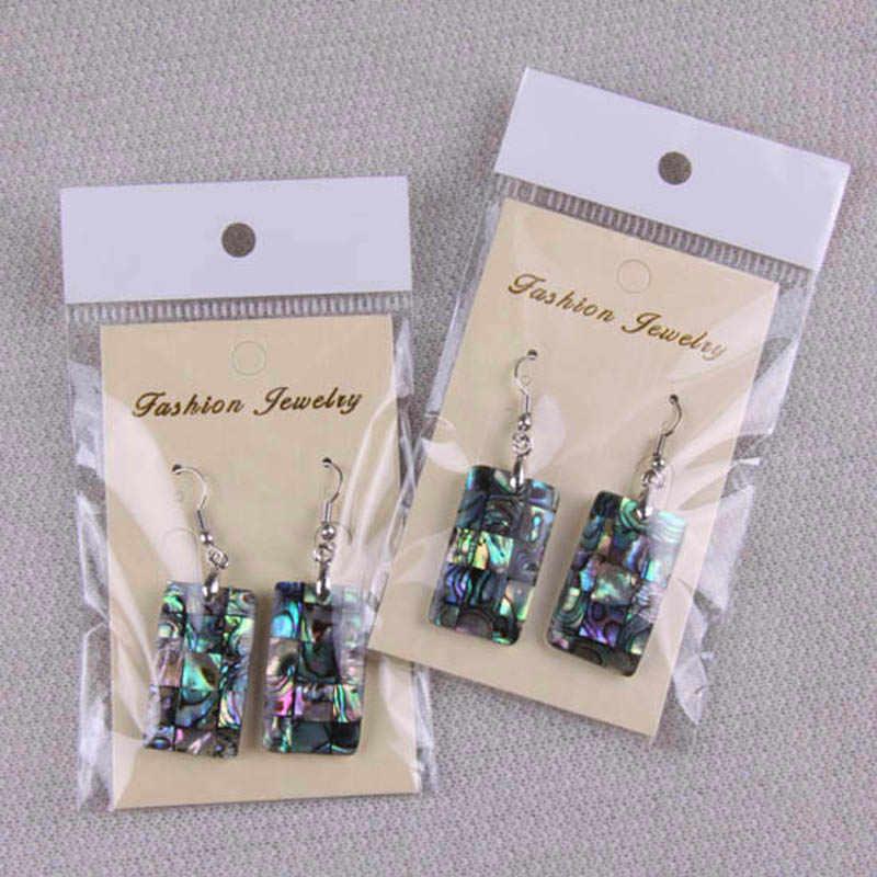 Nieuw-zeeland Abalone Oorbellen Mode-sieraden Voor Vrouw Gift 1PCS T010-T024