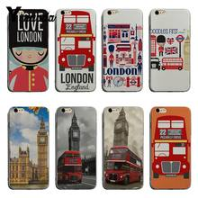 Yinuoda London big ben Bus Luxury Quality transparent soft Phone Case For iPhone 6 6plus 7 7Plus 8 8plus X XS XR XSMax(China)