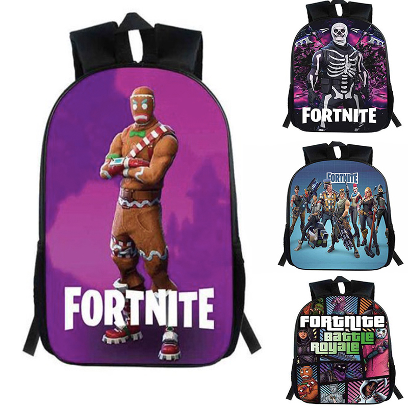 Game Fortress Night  Backpack Cartoon Character Children Knapsack Girls Boys Backpack Bags Unisex