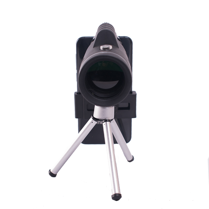 40X60 Monocular Telescope With Compass Phone Clip Tripod Used for Outdoor Hunting Camping Monocular Telescope Kit in Monocular Binoculars from Sports Entertainment
