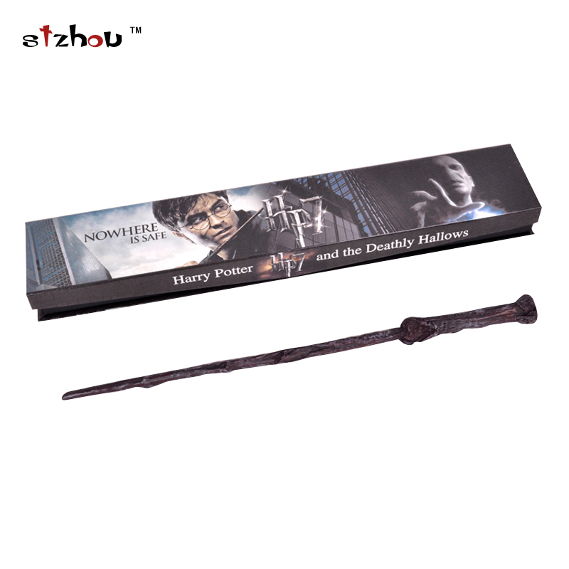 Stzhou Newest Harry Potter Magic Wand Lord Resin Wand Magical Stick Wand New In Box Cosplay Harrye Potters high quality best price harry potter magic wand kids cosplay stage magic tricks sticks children toys harry potter magical wand