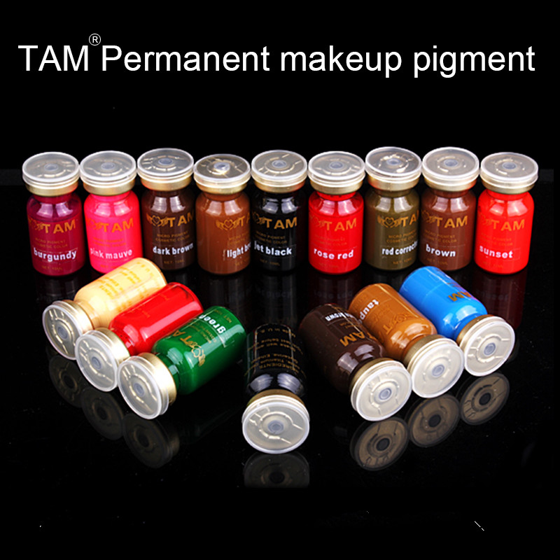PCD Brown Professional Eyebrow Micro Tattoo Bläck Set Lips - Tatuering och kroppskonst - Foto 5