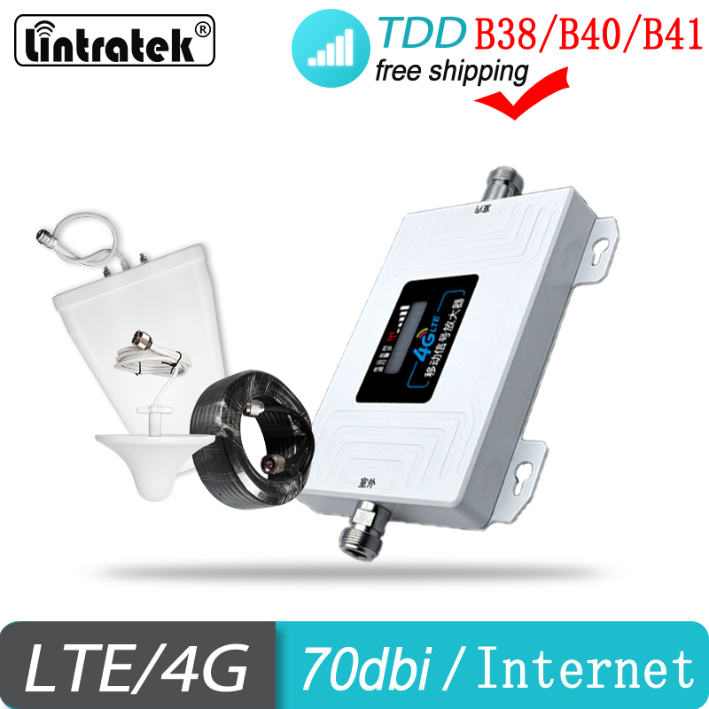4G Signal Booster For Asia TDD 2600 TDD 2300 1900 Signal Repeater Amplifier For Internet And Data Booster B38 B40 B41 #20
