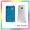 Silver Color Full housing Cover Case Door Replacement +Open Tool For HTC One M7 802w 802t 802d (Dual Sim)