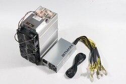 Gebruikt Antminer Z9 42 K Sol/S Met Bitmain APW3 1600W Psu Asic Equihash Miner Beter dan Innosilicon a9 Z9 Mini, zec Zen Mijnwerker