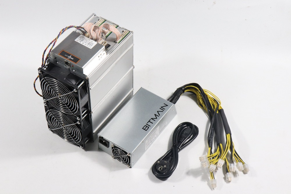 Utilizzato Antminer Z9 42 k Sol/s Con BITMAIN APW3 1600 W PSU Asic Equihash Minatore Meglio di Innosilicon a9 Z9 Mini, ZEC ZEN Minatore
