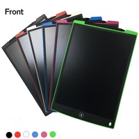 NEWYES 6 Colors 12 LCD Writing Digital Tablets E writer With Stylus Healthy Handwriting Board Office Memo Children Drawing