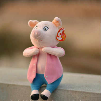 Collection Sing Rosita Pig Mike Johnny Buster Ash Meena Gunter Plush Stuffed Animals Soft Toy