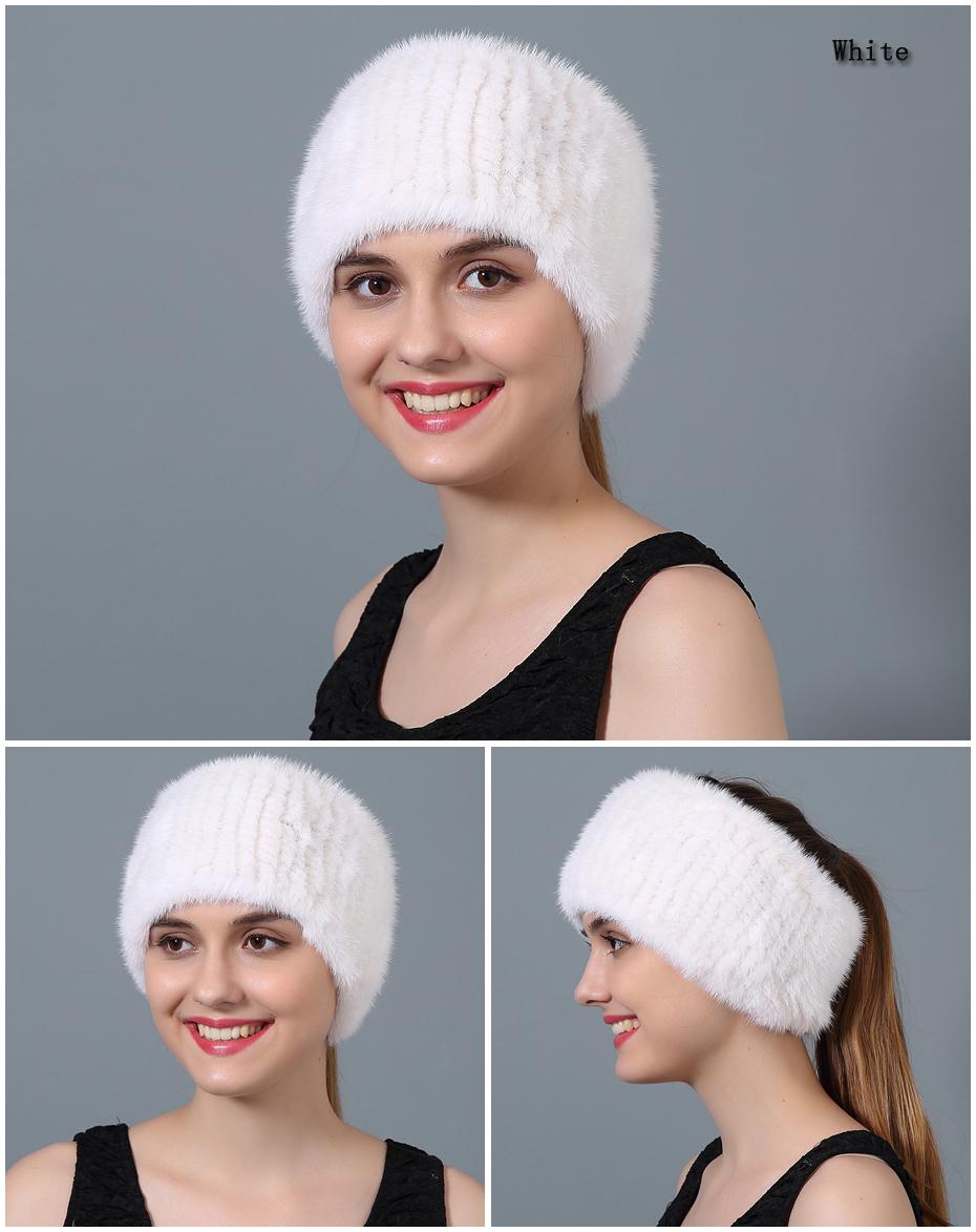 USD United Dollar ใช้หมวกผ้าพันคอผ้าพันคอขนสัตว์ฤดูหนาวหญิงของแท้หมวกขนสัตว์ 19