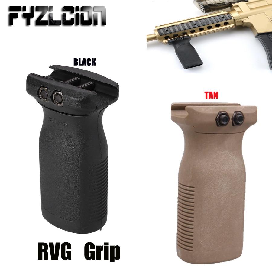 Air-Gun Hand-Guards Vertical-Grip-Toy AR15 Rail-Keymod Rifle-Polymer Hunting Airsoft-Rvg