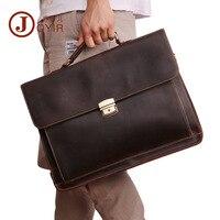 JOYIR пояса из натуральной кожи для мужчин's мужские Портфели Винтаж Сумка для ноутбука Бизнес Высокое качество мужской сумки повседневные
