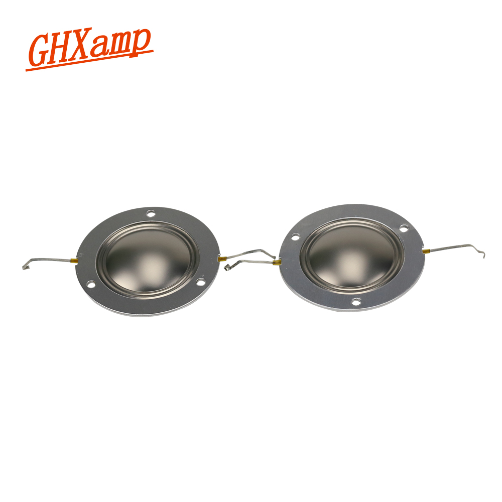 GHXAMP 34.4mm 34.5 Core Treble Voice Coil For PV14XT Imported Titanium Film Aluminum Sheet 8OHM 1 Pairs