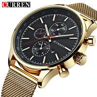 남성 시계 최고 브랜드 명품 스포츠 시계 남성 CURREN