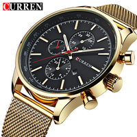Mens Watches Top Brand Luxury Sports Watches Men CURREN Fashion Clock Dress Men S Quartz Watch