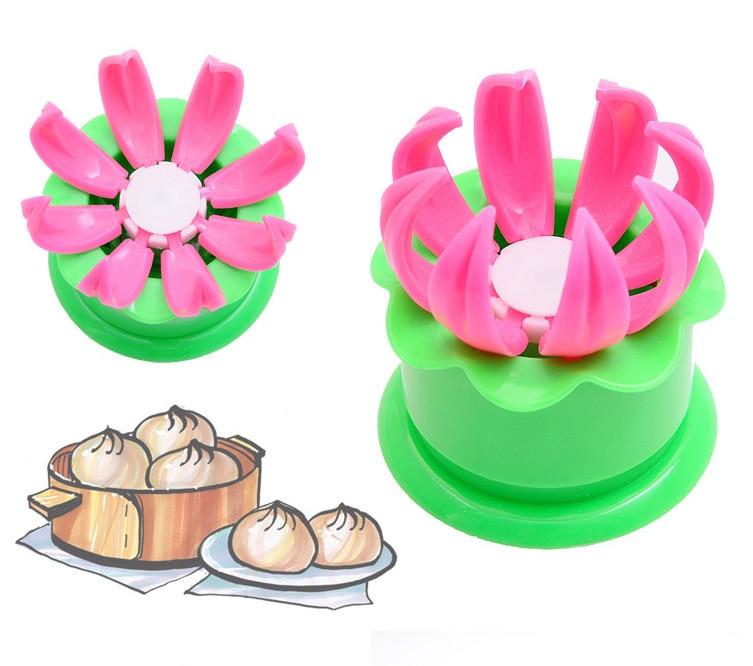New 1pcs Pastry Pie Steam Bun Dumpling Maker Mold Steamed Stuffed Making Diy Kitchen Cooking Tool